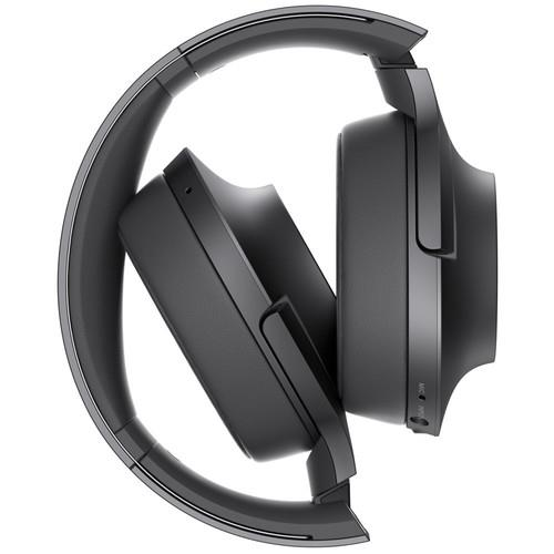 "SONY MDR100ABN ""h.ear on"" Wireless NC Bluetooth Headphones"