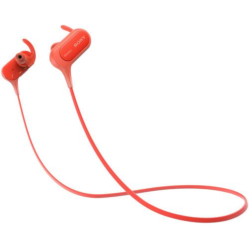 SONY XB50BS Extra Bass Sports Bluetooth In-Ear Headphones (Red)