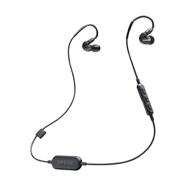 SHURE SE215-BT1 Sound-Isolating Earphones, Black