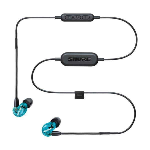 SHURE SE215-BT1 Sound-Isolating Earphones, Blue