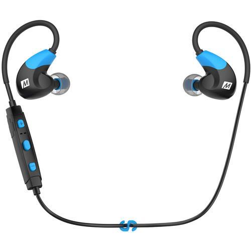 MEElectronics X7 Bluetooth In-Ear Sport Headphones (Blue)