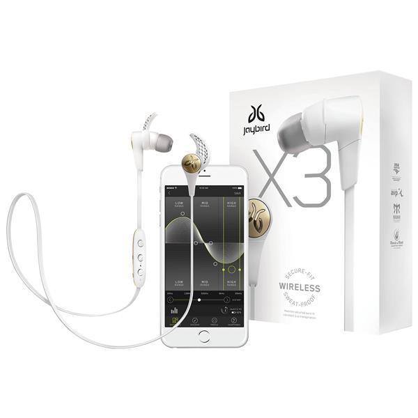 JAYBIRD X3 Wireless In-Ear Bluetooth Sport Headphones (Sparta)