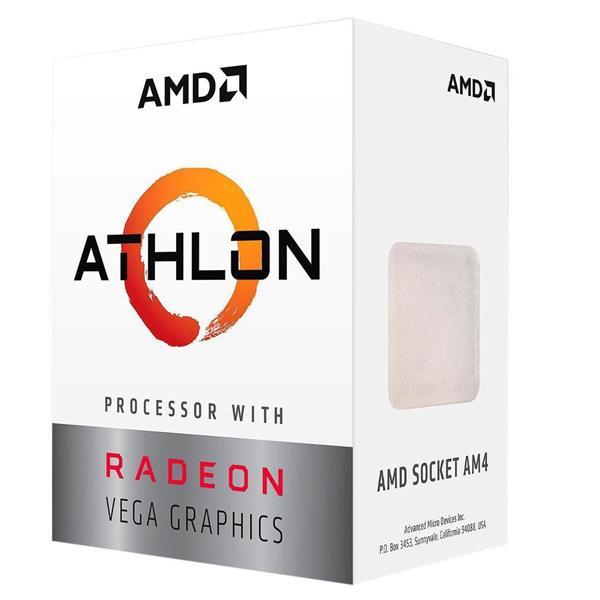 AMD Athlon 200GE Dual-Core, 4-Thread  Processor