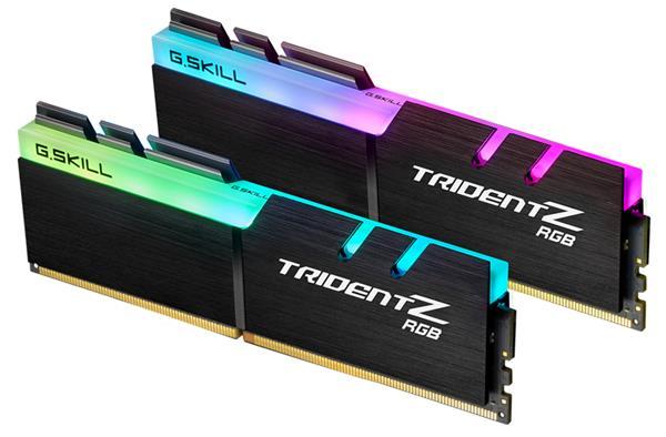 G SKILL Trident Z RGB Series 16GB (2x8GB) DDR4 3600MHz CL16