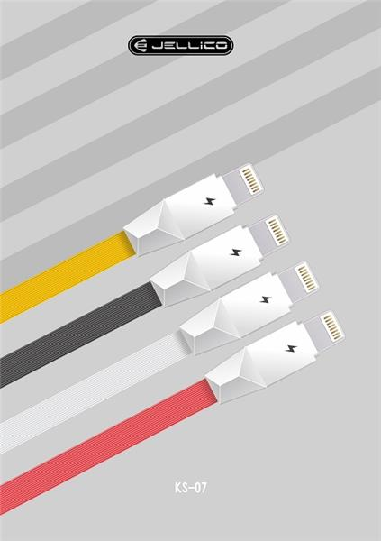 Jellico Micro USB Cable (3.3 Ft.) Charge & Sync White