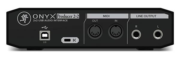Mackie Onyx Producer 2•2 - 2x2 USB Audio Interface with MIDI