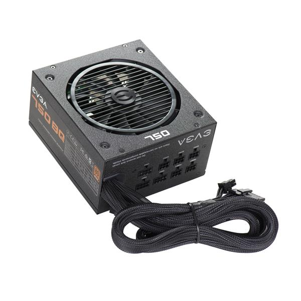EVGA 750 BQ 750W 80Plus Bronze Certified Power Supply (110-BQ-0750-V1)