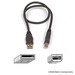 Belkin Pro Series USB 2.0 Cable A/B - 20 inches (F3U133-20INCH)