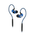 SoundMAGIC ST30 Blue Bluetooth Earphone with Mic and 3.5mm Cable | Water-proof | Ergonomic design | Super-strongbass