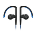 SoundMAGIC ST80 Blue Bluetooth Earphone with Mic and 3.5mm Cable   Water-proof   Adjustable ear-shelland ear-hook design   Stainless steelstructural parts