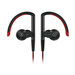 SoundMAGIC ST80 Red Bluetooth Earphone with Mic and 3.5mm Cable   Water-proof   Adjustable ear-shelland ear-hook design   Stainless steelstructural parts