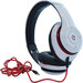 (E)scape BT-S15 - Hands Free Bluetooth Stereo Headset (White) | 6 Hours Talk Time | 6 Hours Music Time | Standby Mode Up to 180 Hours | Range up to 10m | Built-In Li-Ion Rechargeable Battery | MP3 Player w/ Micro SD Slot | FM Radio